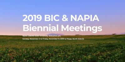 2019 BIC & NAPIA Biennial Meetings