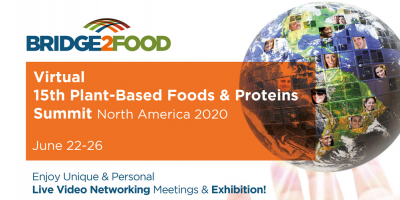 Virtual 15th Plant-Based Foods & Proteins Summit North America 2020