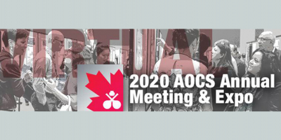 The Virtual 2020 AOCS Annual Meeting & Expo